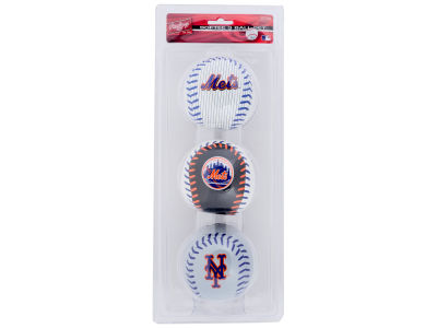 New York Mets Softee Triple Play Ball/Set