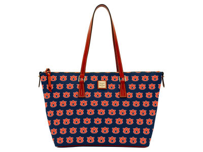 Auburn Tigers Dooney & Bourke Zip Top Shopper