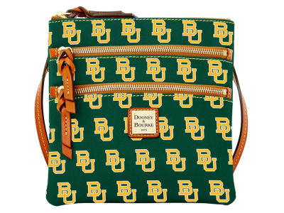 Baylor Bears Dooney & Bourke Triple Zip Crossbody Bag