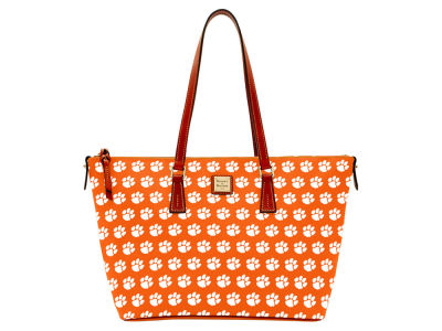 Clemson Tigers Dooney & Bourke Zip Top Shopper