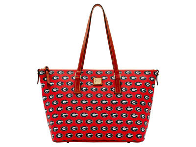Georgia Bulldogs Dooney & Bourke Zip Top Shopper