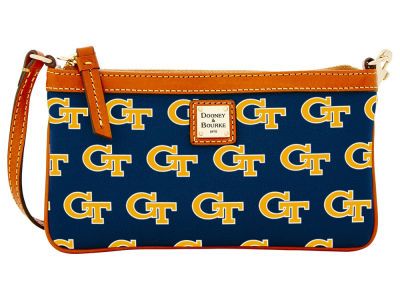 Georgia-Tech Dooney & Bourke Large Wristlet