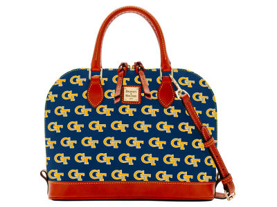 Georgia-Tech Dooney & Bourke Zip Zip Satchel