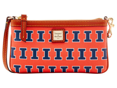 Illinois Fighting Illini Dooney & Bourke Large Wristlet