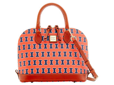 Illinois Fighting Illini Dooney & Bourke Zip Zip Satchel