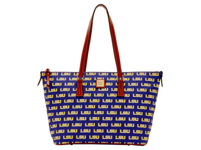 LSU Tigers Dooney & Bourke Zip Top Shopper