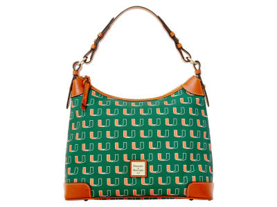 Miami Hurricanes Dooney & Bourke Hobo Bag