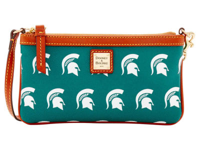 Michigan State Spartans Dooney & Bourke Large Wristlet