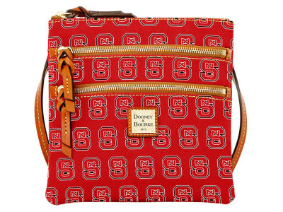 North Carolina State Wolfpack Dooney & Bourke Triple Zip Crossbody Bag