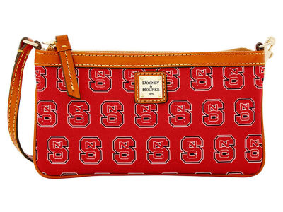 North Carolina State Wolfpack Dooney & Bourke Large Wristlet