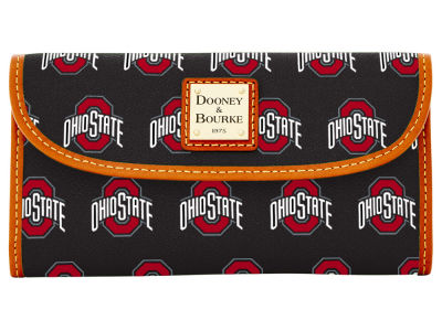 Ohio State Buckeyes Dooney & Bourke Continental Clutch