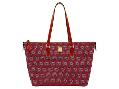 South Carolina Gamecocks Dooney & Bourke Zip Top Shopper