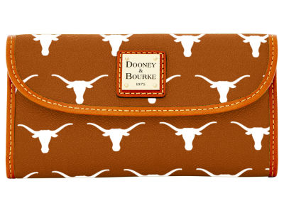 Texas Longhorns Dooney & Bourke Continental Clutch