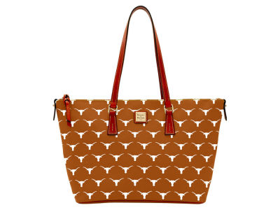 Texas Longhorns Dooney & Bourke Zip Top Shopper