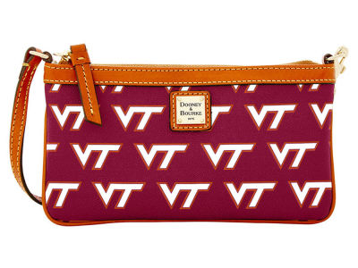 Virginia Tech Hokies Dooney & Bourke Large Wristlet