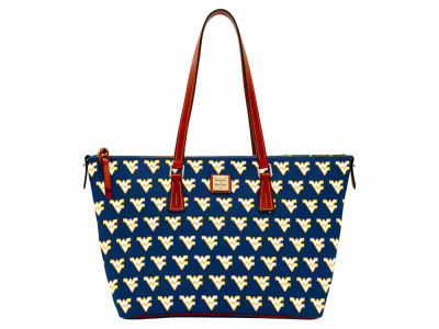 West Virginia Mountaineers Dooney & Bourke Zip Top Shopper