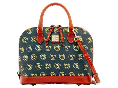 Colorado Buffaloes Dooney & Bourke Zip Zip Satchel