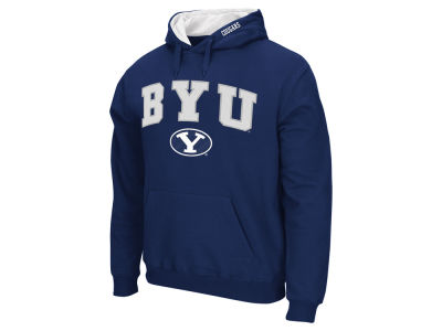 Brigham Young Cougars NCAA Men's Arch Logo Hoodie