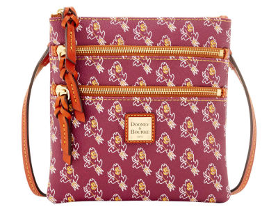 Arizona State Sun Devils Dooney & Bourke Triple Zip Crossbody Bag