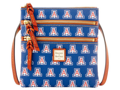 Arizona Wildcats Dooney & Bourke Triple Zip Crossbody Bag
