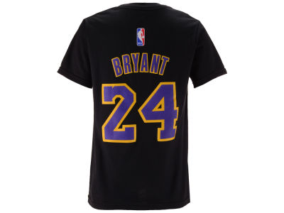 Los Angeles Lakers Kobe Bryant NBA Youth Name And Number T-Shirt