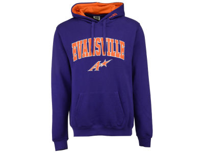 Evansville Aces Colosseum NCAA Men's Arch Logo Hoodie