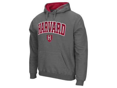 Harvard Crimson NCAA Men's Arch Logo Hoodie