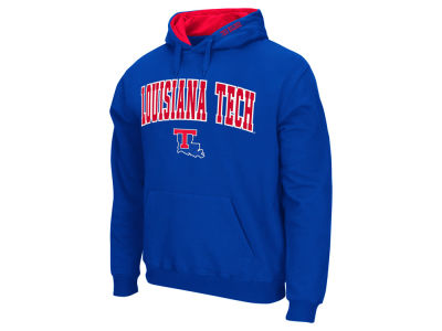 Louisiana Tech Bulldogs Colosseum NCAA Men's Arch Logo Hoodie