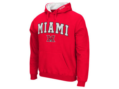 Miami (Ohio) Redhawks NCAA Men's Arch Logo Hoodie