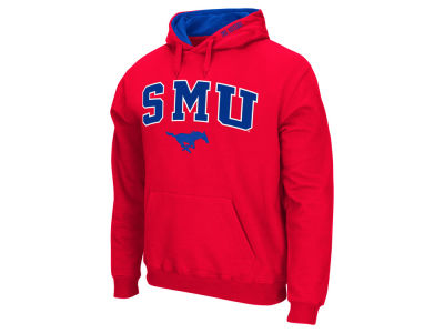 Southern Methodist Mustangs NCAA Men's Arch Logo Hoodie