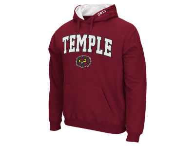Temple Owls Colosseum NCAA Men's Arch Logo Hoodie