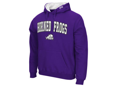 Texas Christian Horned Frogs Colosseum NCAA Men's Arch Logo Hoodie
