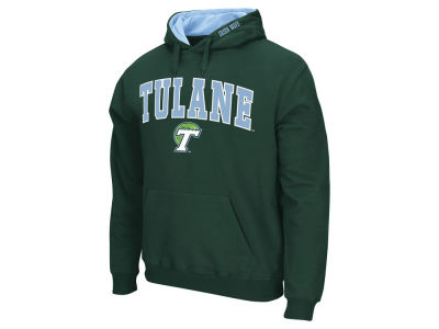 Tulane Green Wave NCAA Men's Arch Logo Hoodie