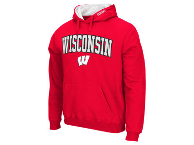 Wisconsin Badgers NCAA Men's Arch Logo Hoodie