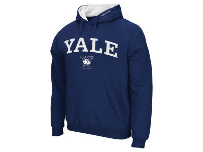 Yale Bulldogs Colosseum NCAA Men's Arch Logo Hoodie