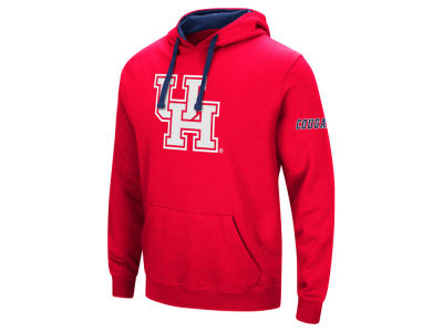 Houston Cougars Colosseum NCAA Big Logo Hoodie