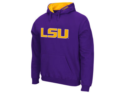 LSU Tigers Colosseum NCAA Men's Big Logo Hoodie