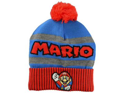 Nintendo Youth Rubber Logo Pom Knit