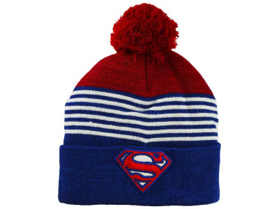 DC Comics Striped Pom Knit