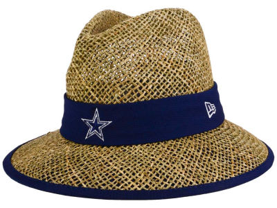 Dallas Cowboys New Era NFL Training Straw Hat
