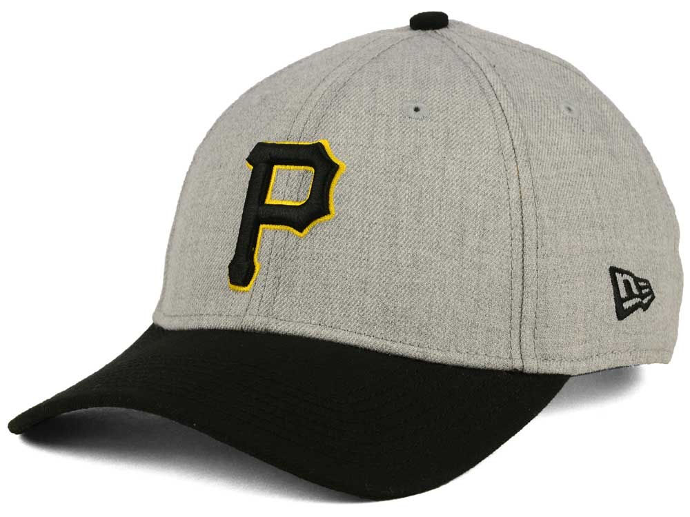 pretty nice a4bb8 fa855 shop pittsburgh pirates new era mlb league heather 9forty cap a5c7e b64e4