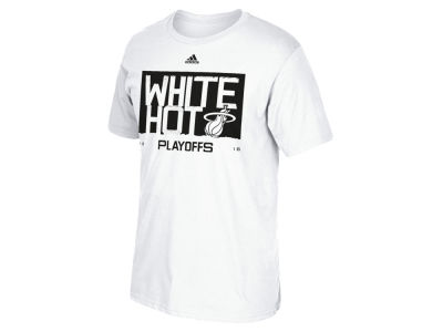 Miami Heat adidas NBA Men's Playoff Wear T-Shirt