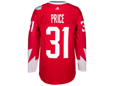 Canada Hockey Carey Price adidas World Cup of Hockey Youth Premier Player Jersey