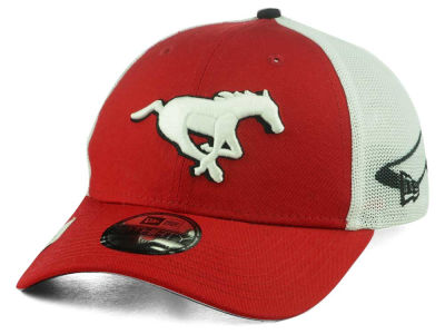 Calgary Stampeders New Era CFL Logo Wrapped 39THIRTY Cap