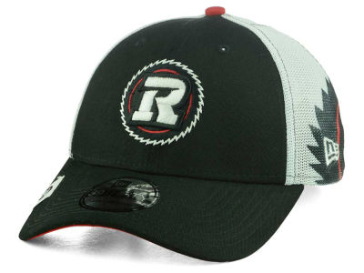 Ottawa RedBlacks New Era CFL Logo Wrapped 39THIRTY Cap