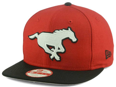 Calgary Stampeders New Era CFL GCP Logo Grand 9FIFTY Snapback Cap