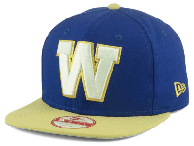 Winnipeg Blue Bombers New Era CFL GCP Logo Grand 9FIFTY Snapback Cap