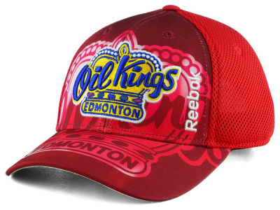 Edmonton Oil Kings Reebok WHL 16-17 2nd Season Structured Adjustable Cap