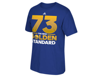 Golden State Warriors adidas NBA Men's Golden Standard Record T-Shirt