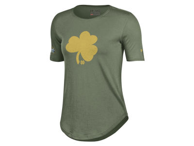 Notre Dame Fighting Irish NCAA Women's Shamrock Series Shamrock T-Shirt